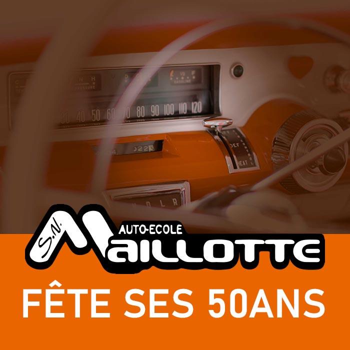 L'auto-école Maillotte fête ses 50ans