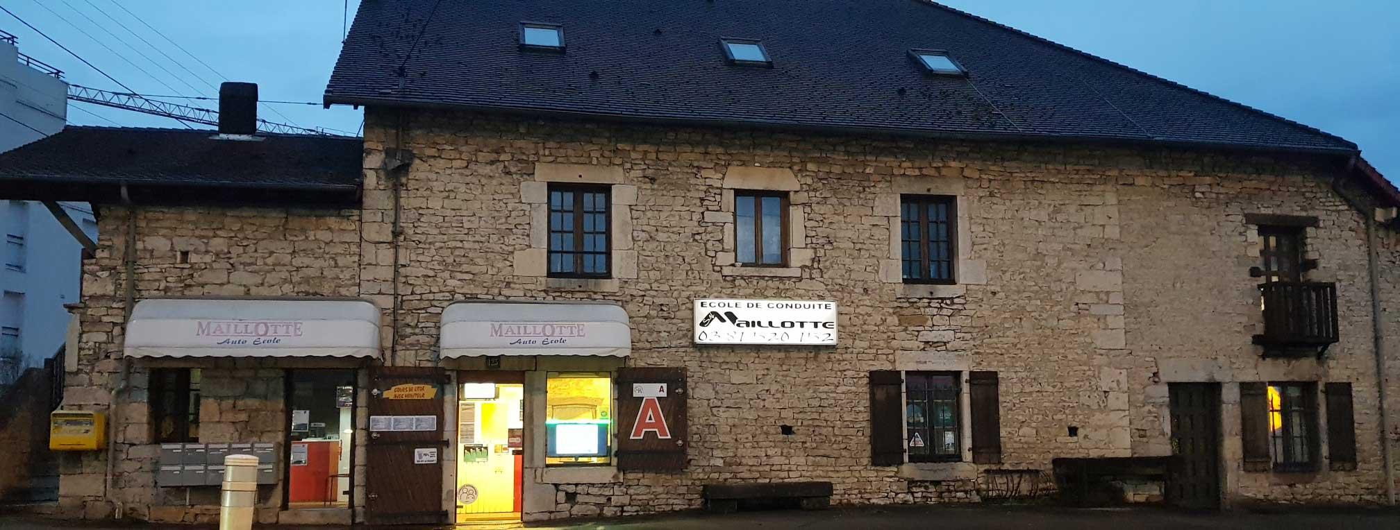 L'auto-école Maillotte, 123 rue de Dole à Besançon [aem_home120051]